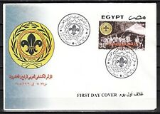 Egypt, Scott cat. 1917. Arab Scout Conference issue on a First day cover.