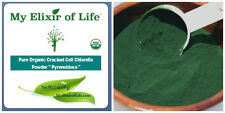Pure Organic Cracked Cell Taiwan Chlorella Powder  4.2oz