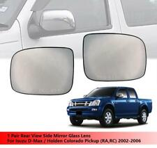 Rear View Side Mirror Glass Lens Use Isuzu D-Max Dmax/Holden Colorado 2002-2006