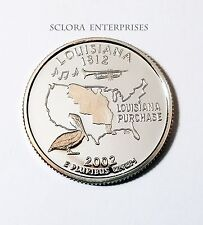 2002 S LOUISIANA *PROOF* STATE QUARTER   **FREE SHIPPING**