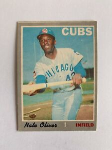 1970 O-Pee-Chee #223 Nate Oliver - Chicago Cubs