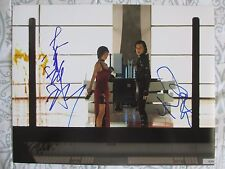 MILLA JOVOVICH LI BINGBING SIGNED 11x14 PHOTO DC/COA (RESIDENT EVIL RETRIBUTION)
