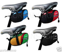 Bicycle Bike Pannier Mountain  Saddle Frame Under Seat Pouch Bag Outdoor UK Sale