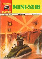 COMMANDO CLASSICS 15 - MINI-SUB (1974)