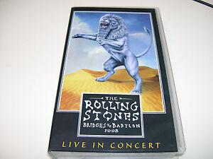The Rolling Stones - Bridges to Babylon 1998 Live VHS EAGLE ROCK