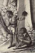 Antique print Karon Papua Nieuw Guinea Papoea VOC 1880
