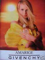 PUBLICITÉ 1996 PARFUM POUR FEMME GIVENCHY PARIS - ADVERTISING