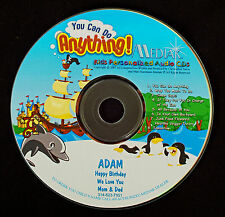 You Can Do Anything Personalized DVD - Child's Name used 106 X's - Fun & Lively