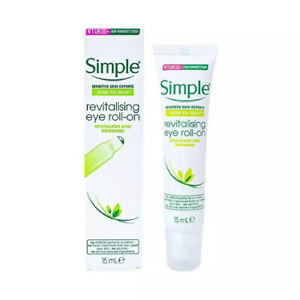 Simple Kind To Skin Revitalising Eye Roll On 15ml - NEW (FREE POST)