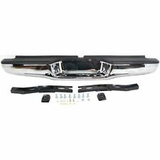 Step Bumper For 95-04 Toyota Tacoma Chrome Steel w/brackets/pads Fleet Styleside