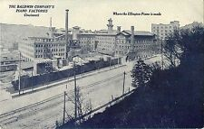 The Baldwin Comany's Piano Factories, Cincinnati OH