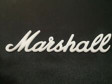 "Marshall logo white color 240mm = 9.4"""
