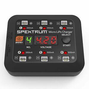 Spektrum Micro 6 Port DC/USB 1S LiPo Charger SPMXC1060
