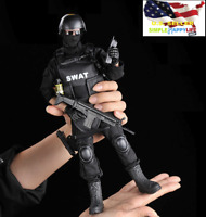 "1/6 SWAT Police Soldier military combat suit 12"" Action Figure toys hot ❶USA❶"