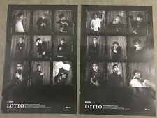 EXO [ LOTTO ] POSTERS  - 2 Posters in Tube (POSTER ONLY)