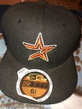 MLB Houston Astros KIDS Fitted Hat 6 3/8 New Era Cap