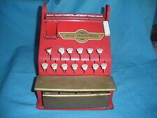 460A Vintage Rollet Caisse enregitreuse Epicerie Marchand Jeu Jouet ancien
