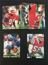 1993 Topps Stadium Club New England Patriots Team Set 20 Cards Drew Bledsoe RC