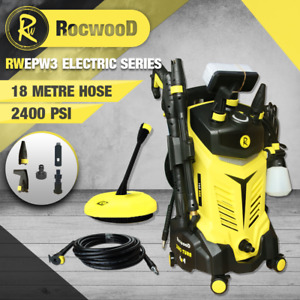 Electric Pressure Washer 2400PSI RocwooD 2200W High Power 165Bar Jet Cleaner