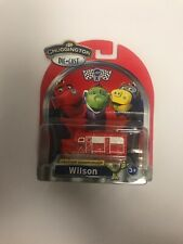 2013 Learning Curve TOMY Chuggington WILSON Blue Die-Cast Train Engine Toy