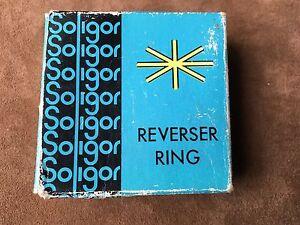 Soligor Reverser Ring for Miranda Camera Japan, new old stock