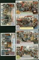 Doge Of Venice Italy Catholic History Set of 6 1930s Trade Ad Cards