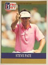 STEVE PATE, '90 PRO SET COLLECTOR'S CARD, EXCELLENT CONDITION, GOLF LEGEND