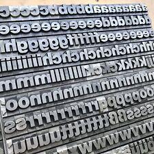 48p fette HELVETICA Bleisatz Buchstaben Bleilettern Bleischrift 18mm Letterpress