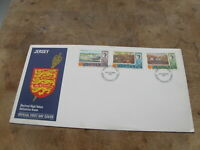 1970 Jersey First Day Cover / FDC -High Value Definitives