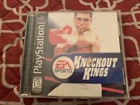 Knockout Kings 2000 Playstation PS1 Video Game Complete