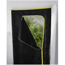 Grow Room Door Cover Protector Zipper Open Ventilation Dust Cover Zip