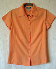 Columbia Cap sleeve Button Front Shirt Size M