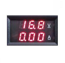 1PCS DC 0-100V 10A Dual LED Digital Voltmeter Ammeter Voltage AMP Power