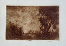 Wilson Silsby California Artist Signed Etching (VI)