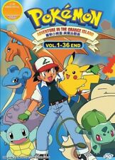 ANIME UK POKEMON ADVENTURE ON THE ORANGE ISLAND TV Series DVD (English Dub)