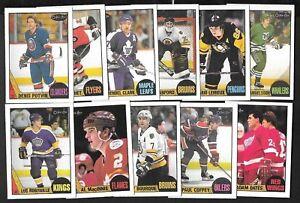 1987-88 OPC 87-88 O PEE CHEE NHL HOCKEY CARD 1-132 SEE LIST