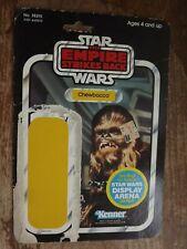 Vintage Star Wars ESB Chewbacca Action Figure Card Back (45 Back)