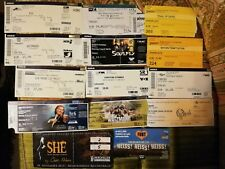 Ticket KONVOLUT - Rush, Who, Alan Parsons, Opeth, Soulfly, Eisbrecher, F. Urlaub
