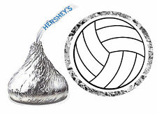 216 VOLLEYBALL BIRTHDAY PARTY FAVORS HERSHEY KISS LABELS