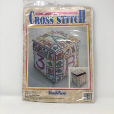 Counted Cross Stitch ABC 123 Baby Block Needle Form #916