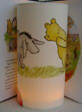 Winnie the Pooh and Eeyore -    Handmade Tall Nursery Night Light