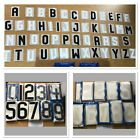 Personalised t shirt letters numbers fancy dress stag do hen do iron on 5 a Side