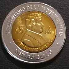 5 pesos Mexico Miguel Ramos Arizpe 2008 UNC