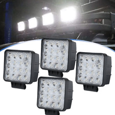 """4""""INCH 48W LED Work Light Bar Flood beam Pods Driving Off-Road Tractor 4WD 12V"""