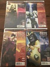 Siege #1-4 Complete Set (2015) Marvel Comics