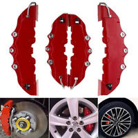 4pcs 3D style car universal disc brake caliper covers front & rear kits ZT