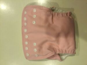 Pink fuzzibunz onesize elite pocket diaper