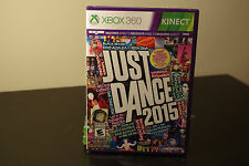 Just Dance 2015 (Microsoft Xbox 360, 2014) New / Factory Sealed