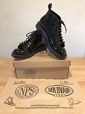 NPS SOLOVAIR Nepco Black Patent Leather Monkey Boots! SizeUK8!New! Only £169.90!