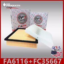 FA6116 FC35667 CA10755 CF10285 ENGINE & CABIN AIR FILTER ~ 2013-2017 AVALON 3.5L